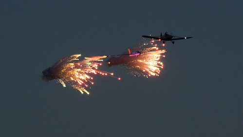 Gliding with fireworks! | by SteveJM2009