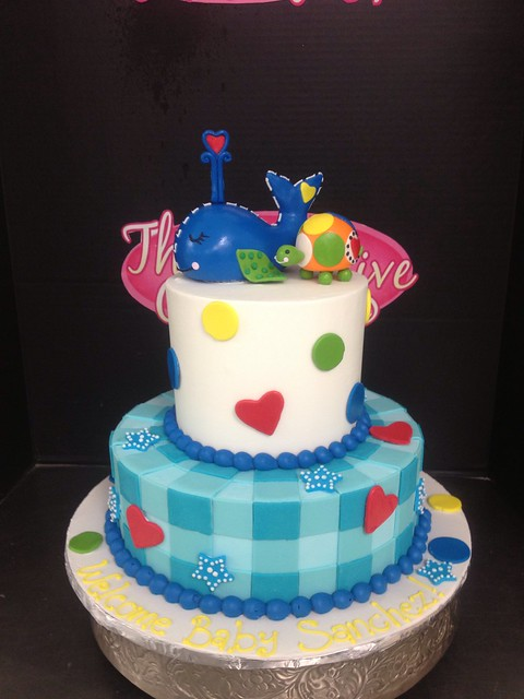 whale baby shower cake flickr photo sharing