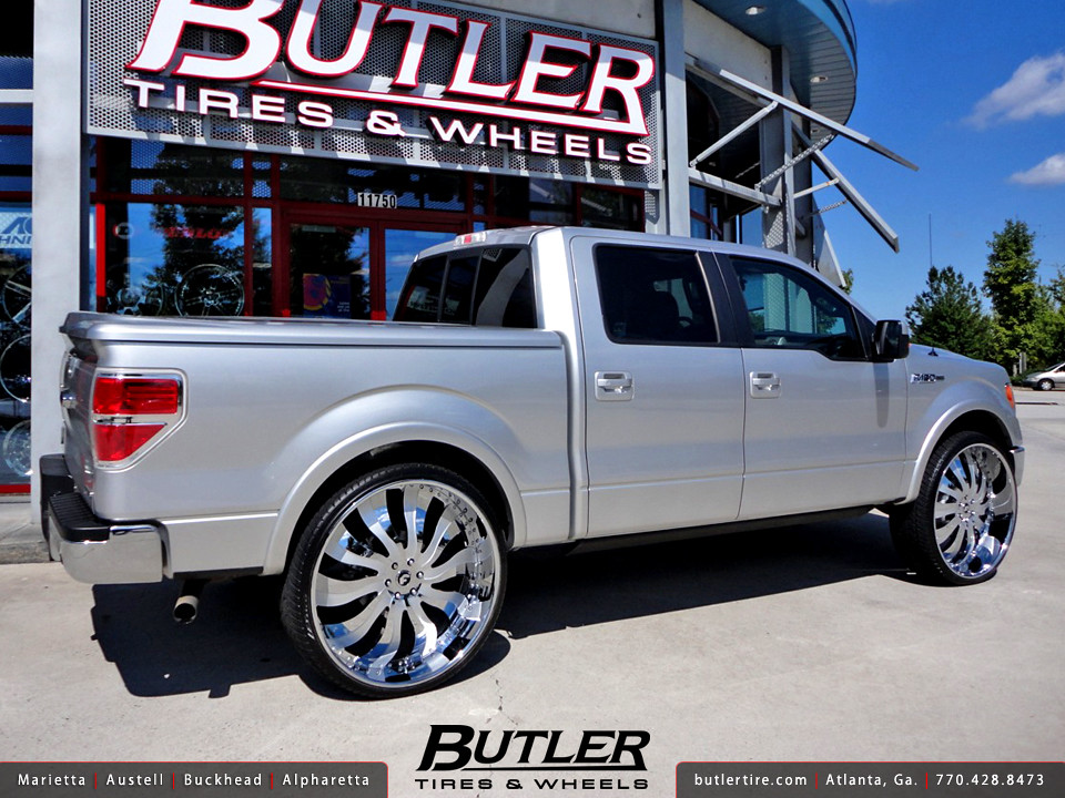 Wheels And Tires For Ford F150 >> Ford F150 with 30in Forgiato Inferno Wheels | Additional Pic… | Flickr