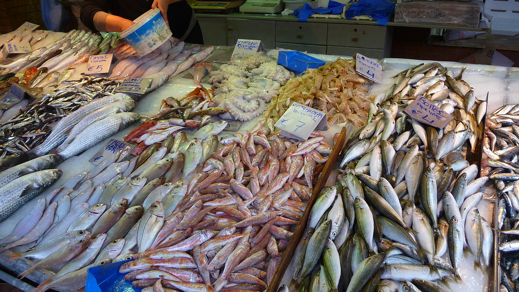 Fish Market Corfu Town Neil Thompson Flickr