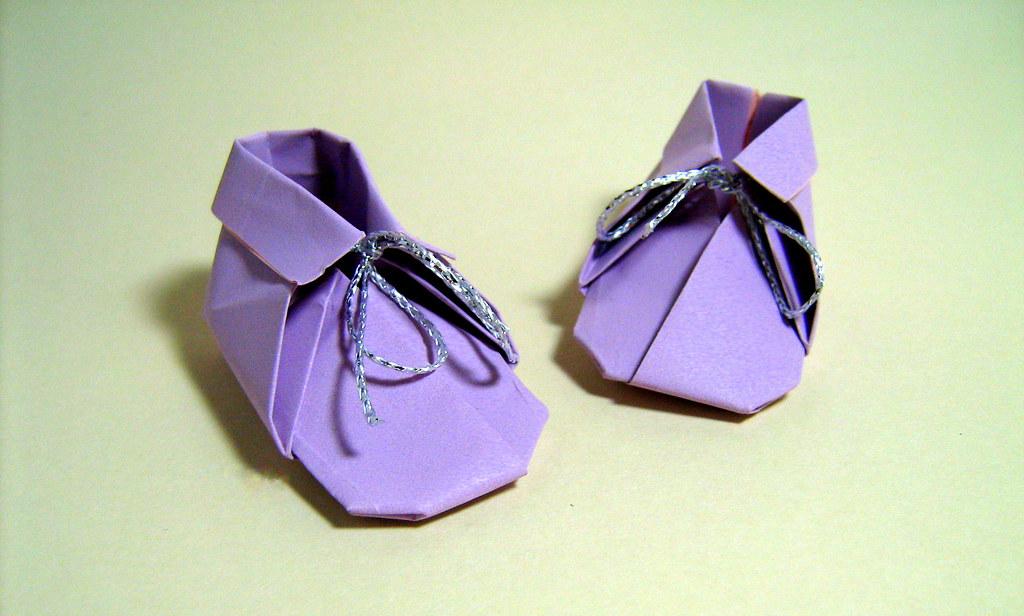 Origami Babys Shoes Katsushi Nosho