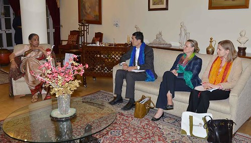 Meeting with Margaret Alva, the Governor of Rajasthan | by UNDP in India