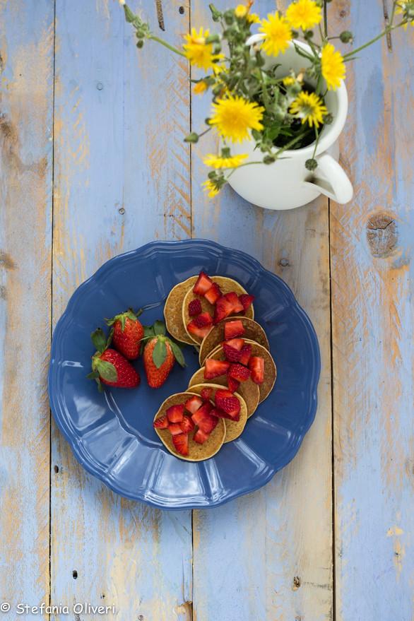 pancake vegan con fragole 8315