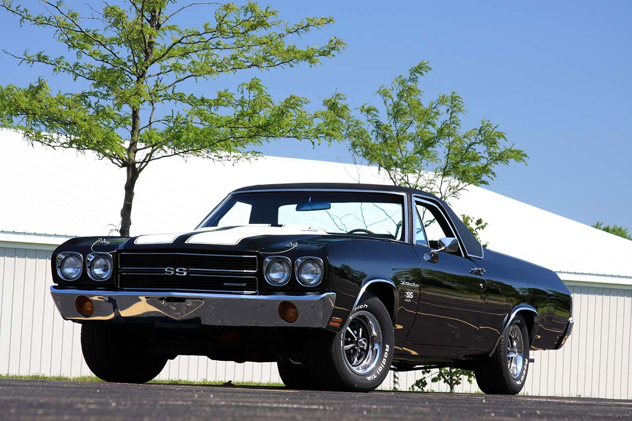 20 Classic & Badass Muscle Cars That Will Never Get Old #12: Chevrolet El Camino SS (1970)