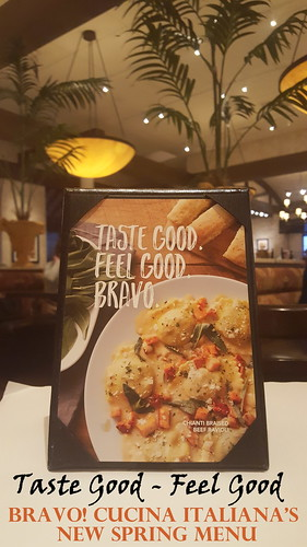 Taste Good - Feel Good: Bravo! Cucina Italiana's New Spring Menu
