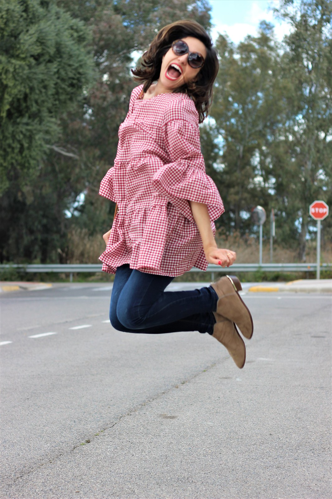 Look cuadros vichy rojo_ Rojo Valentino Blog (21)