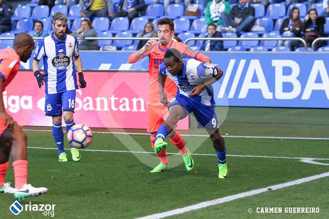 Liga Santander. Deportivo 0 - Granada 0