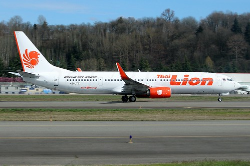 Boeing 737-9GP(ER)(WL) Thai Lion Air HS-LTZ LN6333