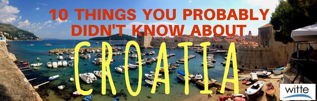 10 Things - Croatia