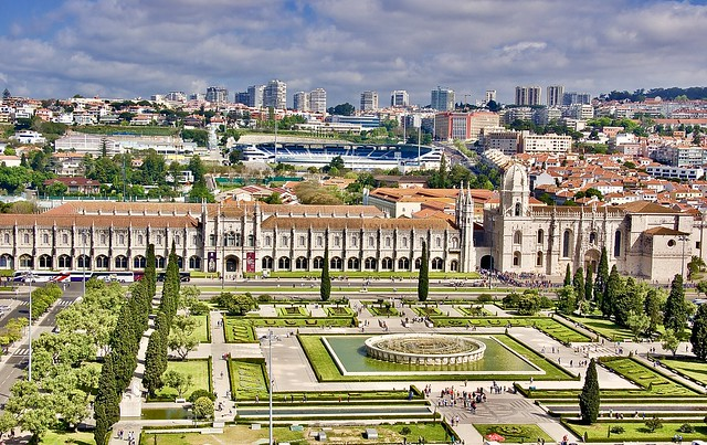 The colorful city of Lisbon