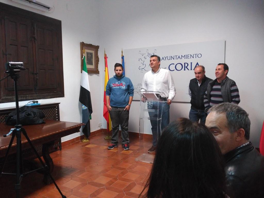 El Alcalde de Coria agradece el interés por parte de la Junta para finalizar las obras del Centro de Día de la ciudad