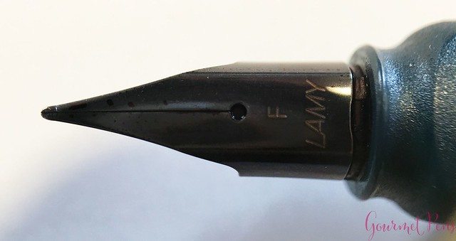 Review @Lamy Safari 2017 Petrol Fountain Pen @Fontolpum0 10
