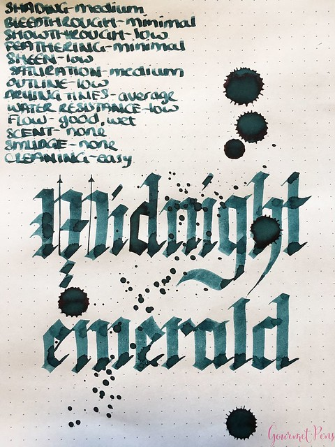 Ink Shot Review Franklin-Christoph Midnight Emerald @1901FC 10