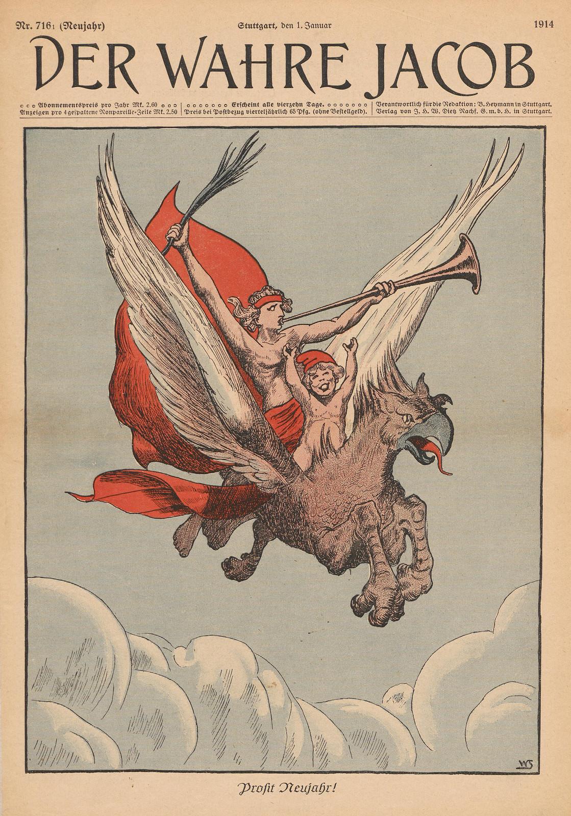 Willi Steinert  - Happy New Year!, 1914