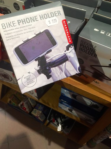 Bike phone holder, available at Mrs. Tiggy Winkle's