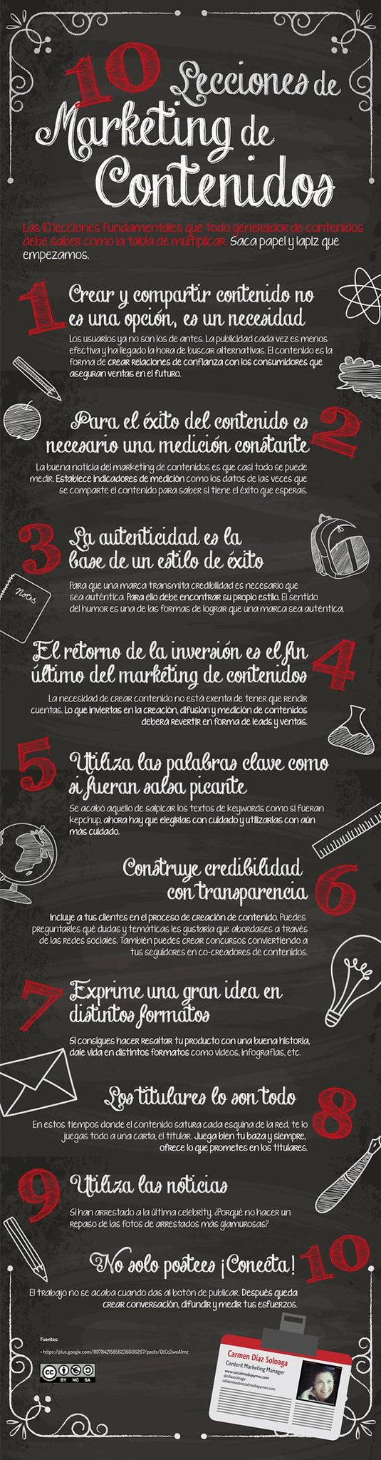 marketing contenidos infografia