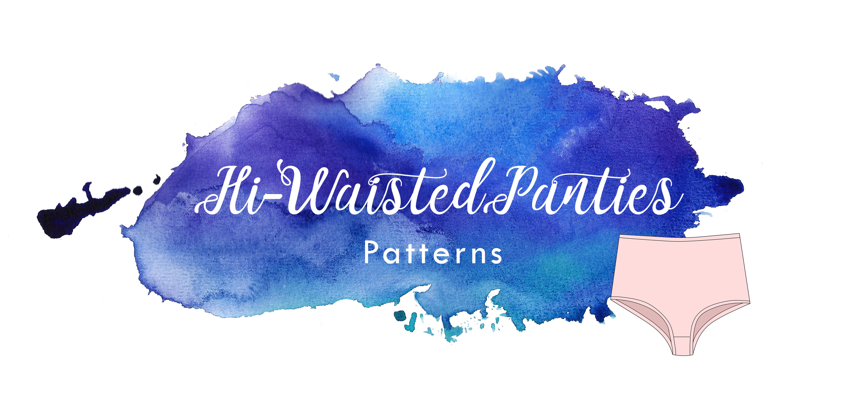 hi waisted high waisted underwear knickers sewing patterns