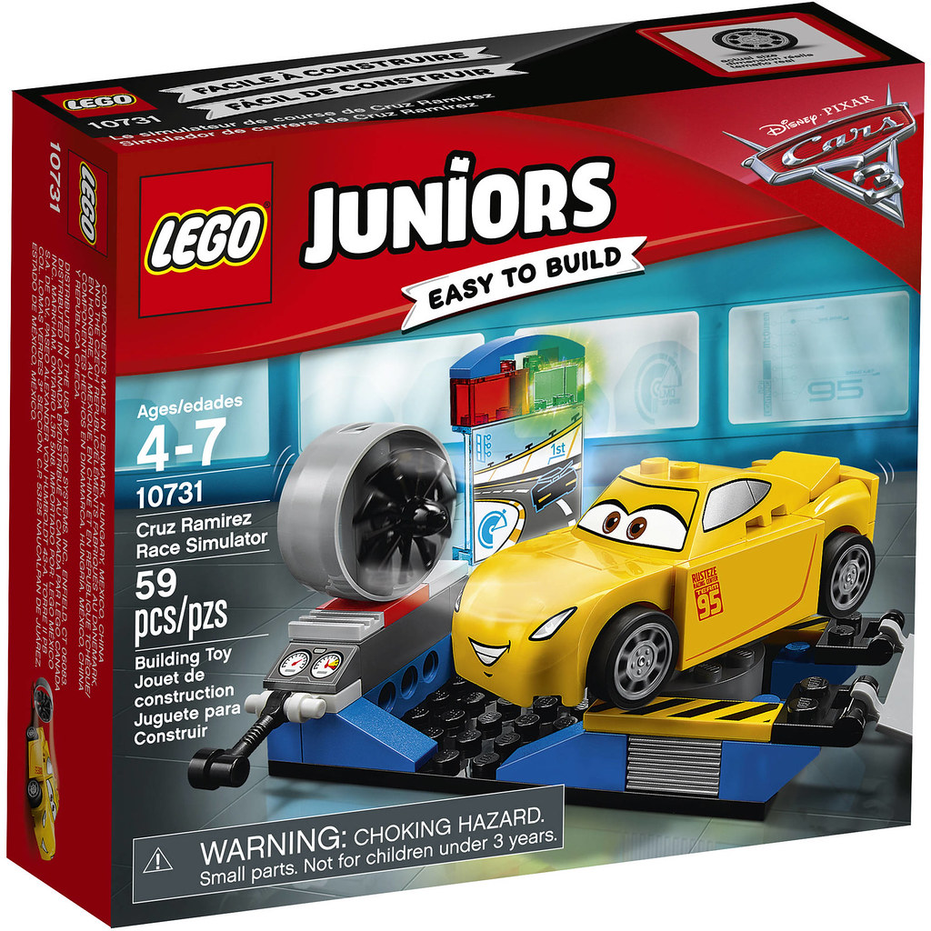 LEGO Juniors Cars 3 10731 - Cruz Ramirez Race Simulator