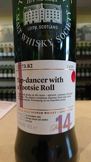SMWS 73.82 - Tap-dancer with a Tootsie Roll