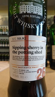 SMWS 50.92 - Sipping sherry in the potting shed