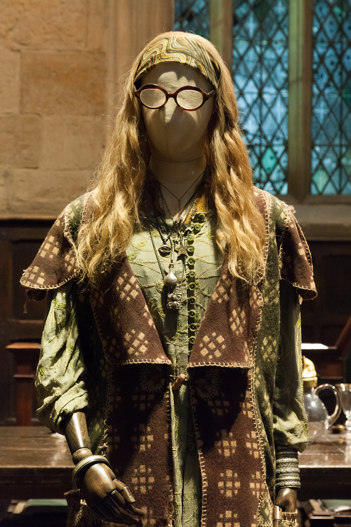 sybill trelawney costume the making of harry potter wa flickr