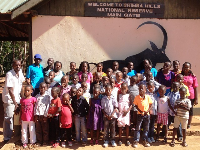 Group photo for Shimba Hills Visit