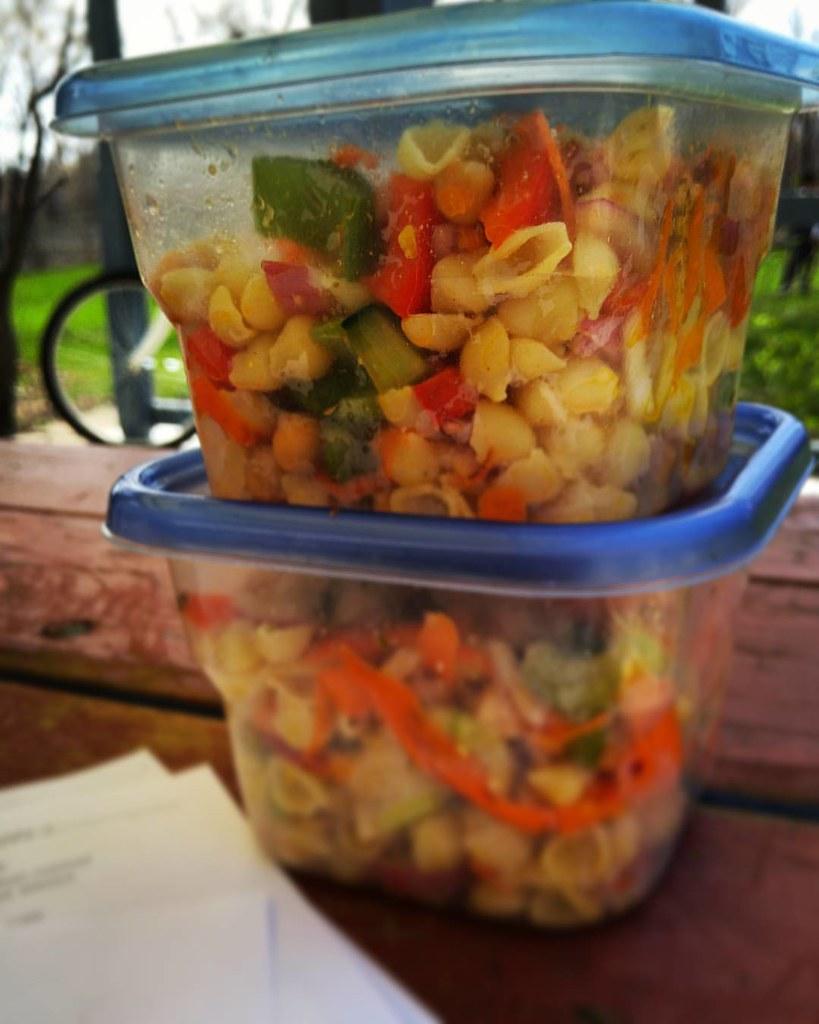 Garden Pasta Salad | A Garden Pasta Salad is a great way to … | Flickr
