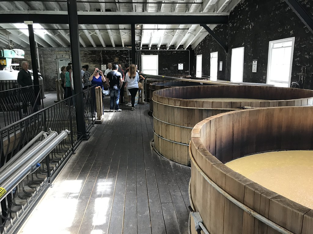 Woodford Reserve Fermentation Room Inside