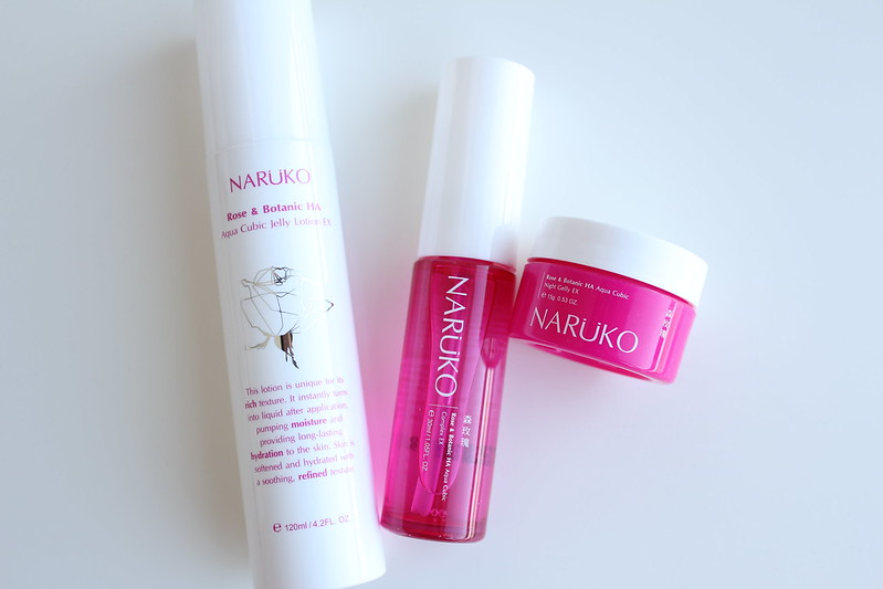 Naruko Rose & Botanic Hyaluronic Acid Hydrating Series review