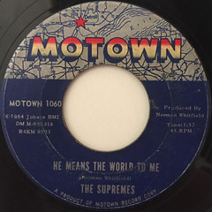 THE SUPREMES:WHERE DID OUR LOVE GO(LABEL SIDE-B)