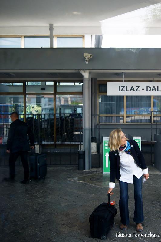 На автобусной станции Улциня