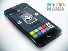 iPhone rendering for COLORMANIA