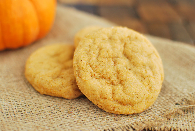 Pumpkin Pudding Snickerdoodles