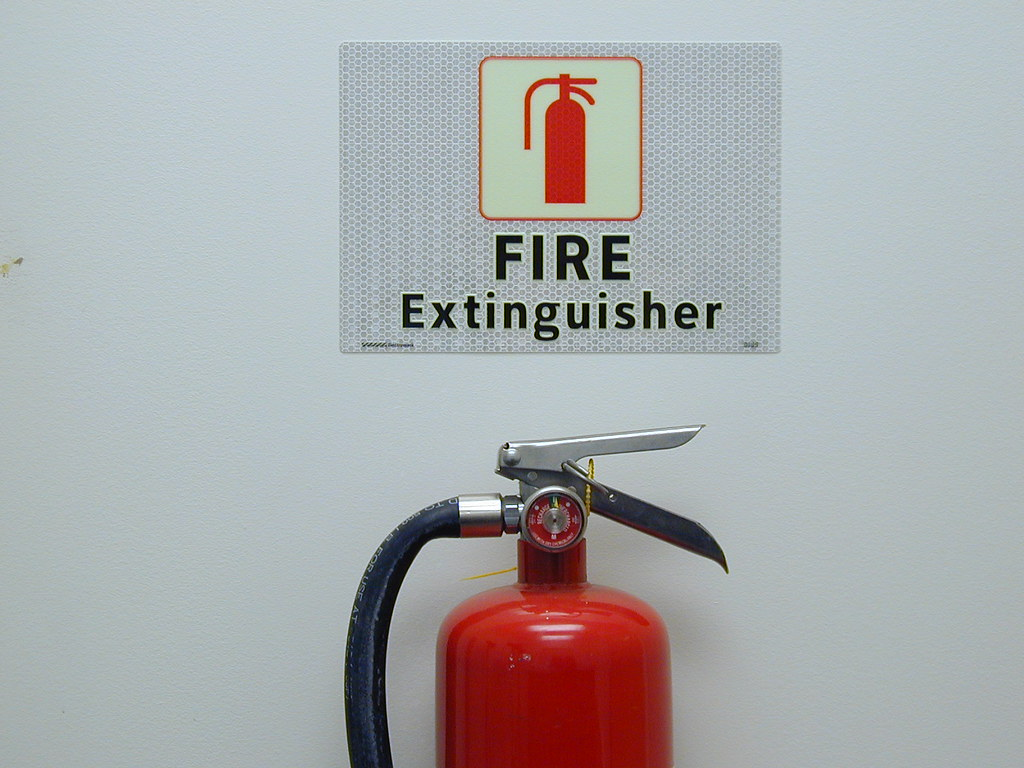 Fire Extinguisher For Kitchen Use
