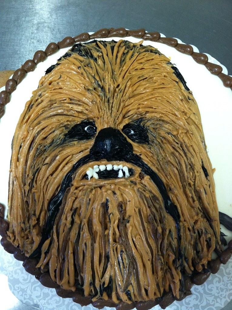 Star Wars Vanilla Cakes
