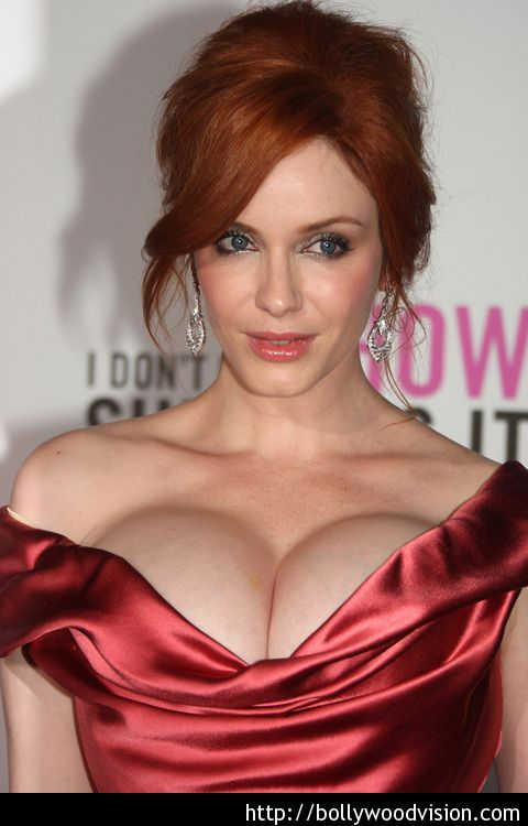 Christina Hendricks on why life is shaping up nicely I