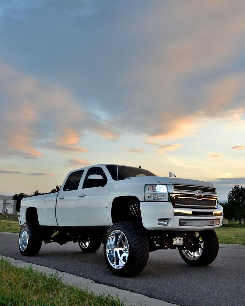 "2014 Chevy Silverado Lifted >> SUPERSINGLE - 8LUG - 2008 CHEVY 3500 INDY 24"" X 14""   Flickr"
