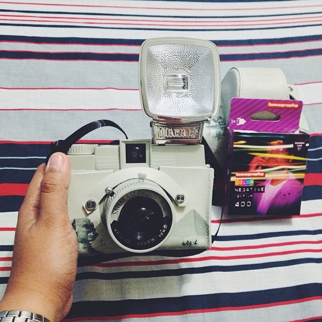 The famous Diana camera. <img class=
