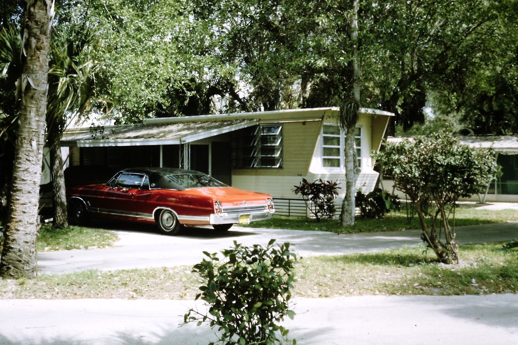 Naples Trailer Park Florida Classic Car Vintage 19