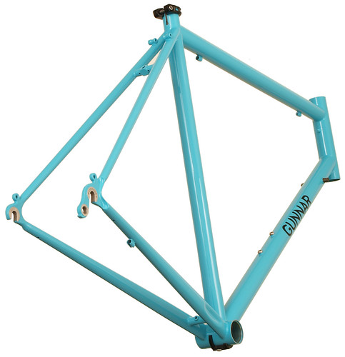 Gunnar Sport in Turquoise with Black Bullseye Decals - Rear View | by Gunnar Cycles
