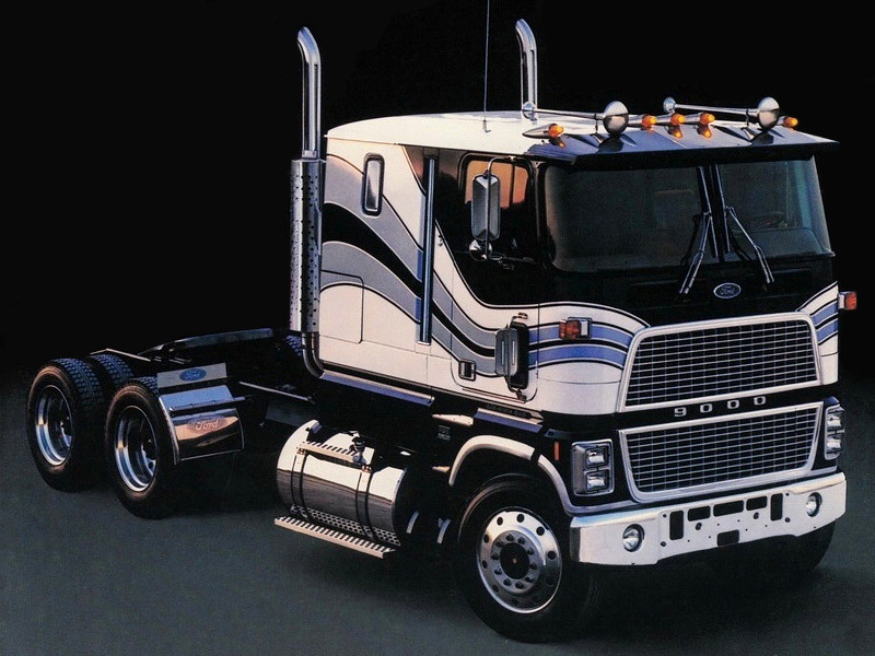 Ford 9000 Cabover Interior : Ford w series cabover related keywords