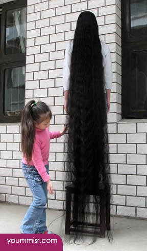 Longest hair woman in the world 2014 49 longest hair for World s longest video