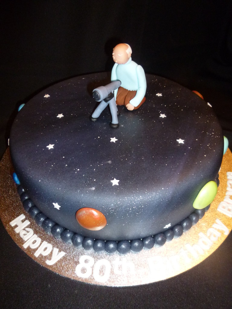 Astronomy Themed Cakes