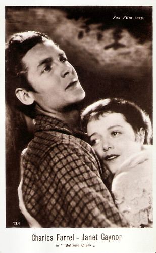 Janet Gaynor and Charles Farrell in Seventh Heaven