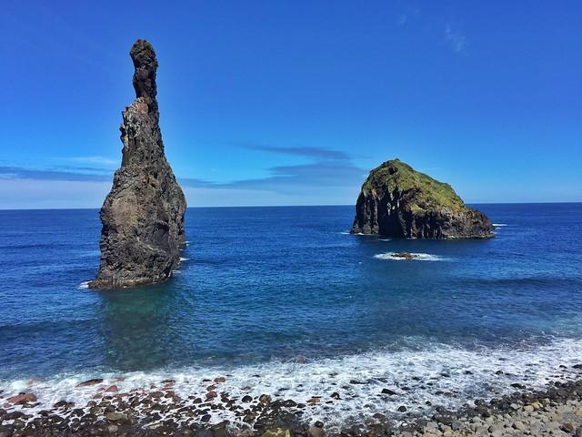 Islotes de Ribeira da Janela en Madeira
