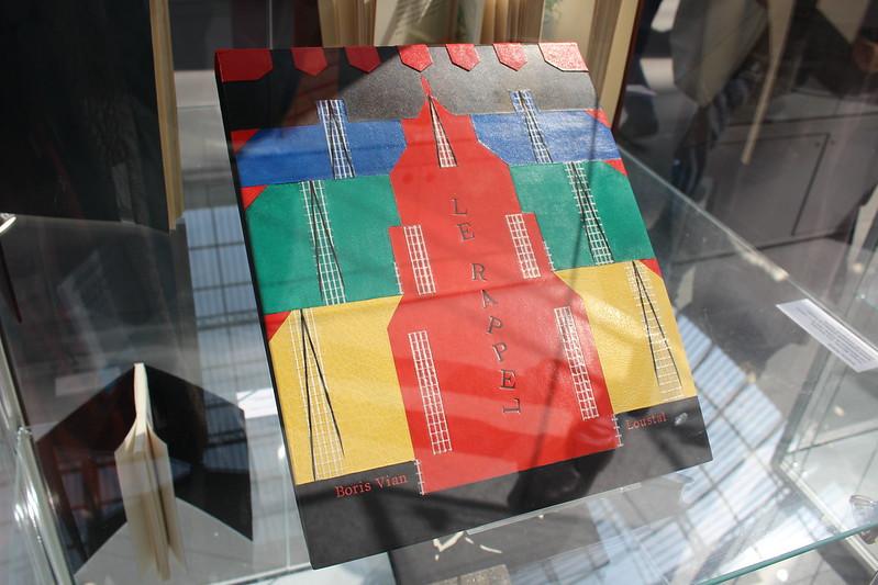 Sophie Charpentier, Le rappel, Boris Vian, illustré par Jacques de Loustal, 2009 - Salon des livres rares et des objets d'art