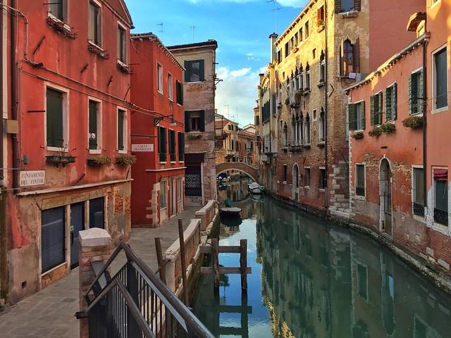 Al barrio de Castello no llegan tantos turistas como a otras partes de Venecia