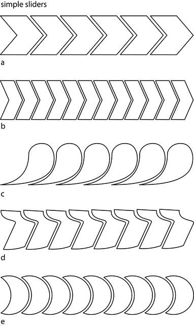 Simple slider patterns