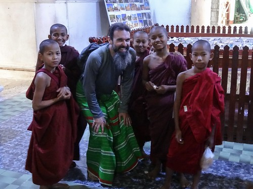 Me and the mini-monks