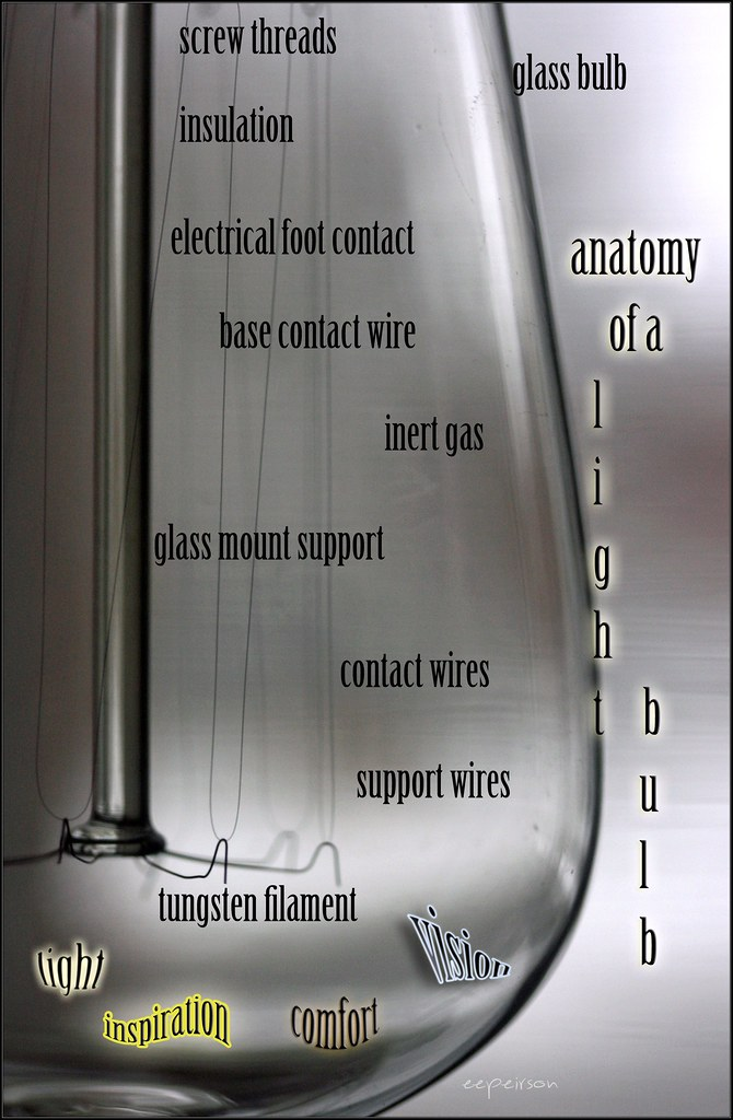 anatomy of a light bulb | an appreciation for the best aid t… | Flickr